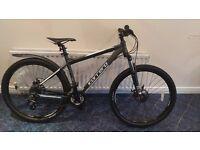 """Carrera Vengeance Mens 18"""" Mountain Bike - Brilliant Condition - RRP £600 - Loads of accessories"""
