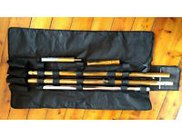 Pole dancing pole XPERT (NX) 40mm Set - Brass