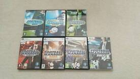 Football manager games £1 each