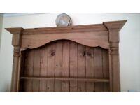 Large Bookcase - solid pine, handmade, adjustable shelves, beautiful, lots of storage