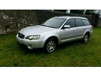 Subaru legacy outback 4x4 awd Estate car 2005