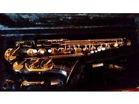 Jupiter JAS 769-767 Black & Gold Alto Saxophone