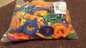 130 Big Alphabet Fridge Magnets