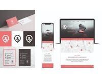 Freelance graphic designer specialising in branding, web & print
