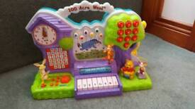 Winnie the pooh 100 acre wood interactive learning playset