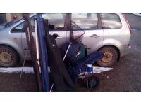 Fishing equipment bundle lot