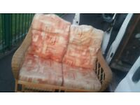 2 seater and 1 chair free delivery