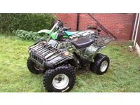 2005 250 offroad quad swaps for car motorbike ect