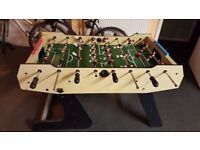 """Used BCE Olympic 4'6"""" Folding Football Table, good overall condition"""
