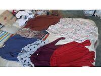 Various women's clothing