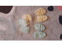 Baby girls newborn 0-3 months clothes bundle