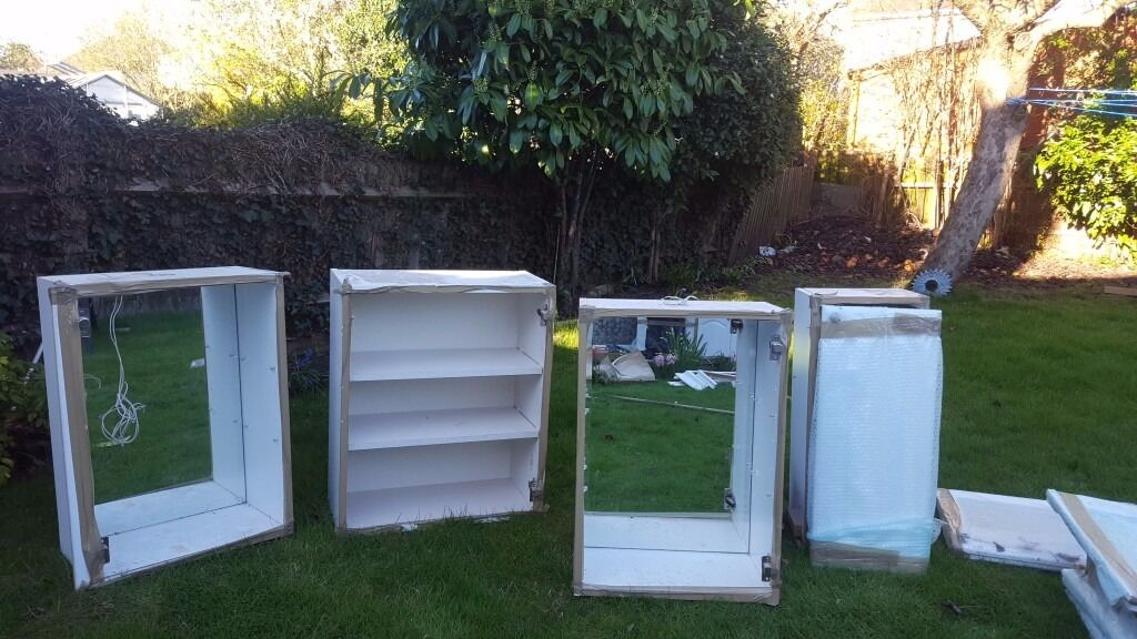 New unused good condition kitchen units FOR SALE URGENT in
