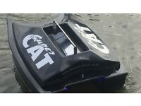 Bait boat. For sale good condition 550 pounds. Phone Roy 07770665518.