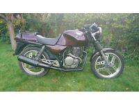 Honda XBR500 Motorcycle, 500cc single cyclinder, Taxed and MoT til December.
