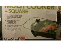 brand new square multi cooker