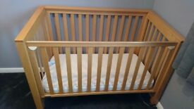 Cot Bed (Mama's & Papa's) Sleigh Cot