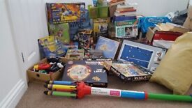 Carboot bundle. A huge collection of good condition toys, games, lp's and loads more items.