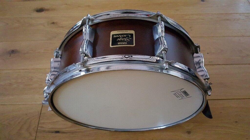 yamaha stage custom snare drum hardly used 14 x 6 in strathaven south lanarkshire. Black Bedroom Furniture Sets. Home Design Ideas