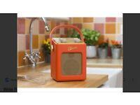 Roberts revival mini DAB Radio - Sunburst Orange