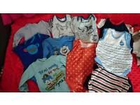 Baby clothes 32 pcs 0-3 3-6 newborn pack bundle