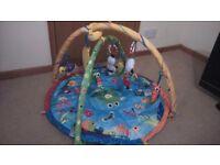 Lamaze playmat with toys