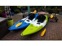 Feelfree nomad kayak x2