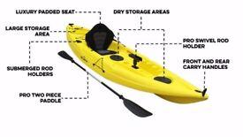 Bluefin Swift Single Fishing Kayaks
