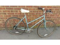 city bike bicycle blue 5 gears Astra