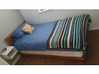 Single Bed with additional Single Pull-out Guest Bed underneath