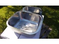 Cooke & Lewis ....Foucault 1.5 Bowl Under-mount Stainless Steel sink.