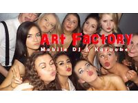 Art Factory & Professional Mobile DJ & Karaoke Host, Weddings, Private Functions, Children's Parties