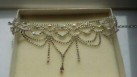 Krystal London swaroski elements hand made necklace