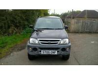 Daihatsu Terios Tracker, 1 Lady owner From New,47,000 Miles,Service history,MOT 12/9/17,Worth a view