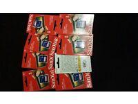 SanDisk 8GB SDHC Class 4 Flash Memory Card 8G 8 G GB SD HC brand new uk