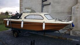 Shetland Family 4 - Honda 4 stroke 30HP Main engine - Sleeps 2