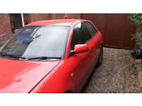 Breaking a 2001 Audi A3. 1.8T 150bhp. (compatible with VW, Seat, Skoda)