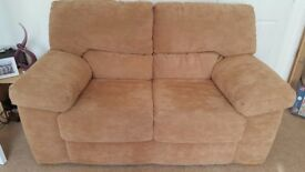 Biscuit/Beige/Light Brown/Camel 2 Seater, 3 Seater Couch Sofa Settee & Footstool