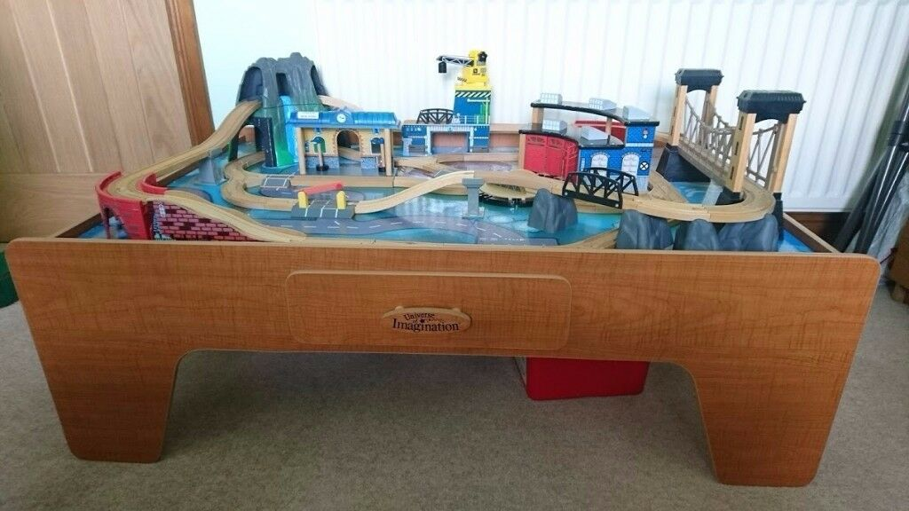 Universe of Imagination Train Table with lights and sounds
