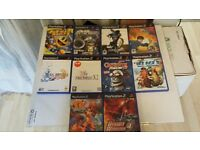 10 PS2 GAME'S (LOT 3 )