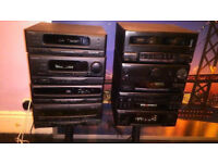 Kenwood And Pioneer Hi fi Stereo Seperates Systems Job Lot
