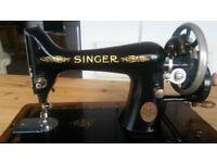 1913 99F SINGER SEWING MACHINE