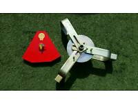 Bulldog Titan caravan wheel clamp