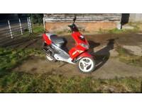 Immaculate Peugeot SpeedFight 2 100cc 12 Months MOT Stunning Example