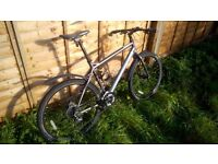 Mens hybrid Carrera Subway 2 bike for sale! Great condition! (original receipt included)