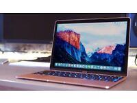 Apple Mac book 12inch rose gold