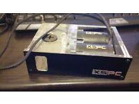 "XSPC Twin X2O 420 Single 5.25"" Drive Bay Water Cooling Reservoir & Twin Pumps"