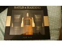 Mens Baylis and Harding Toiletry Gift Set