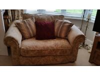 Anderson & England 3,2, 1.5 snuggle chair. Suite.