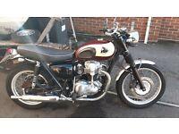 1999 Kawasaki W650 Motorcycle