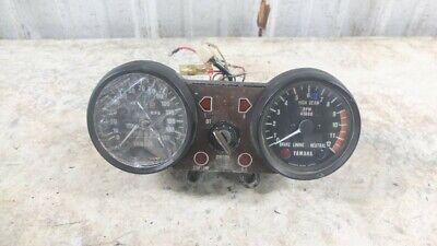 75 Yamaha XS500 XS 500 TX500 Gauge Meter Speedometer Tachometer with Key